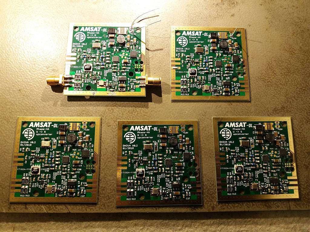 S-Band Transmitter Mixer for QO-100 (P4-A) - AMSAT-Germany