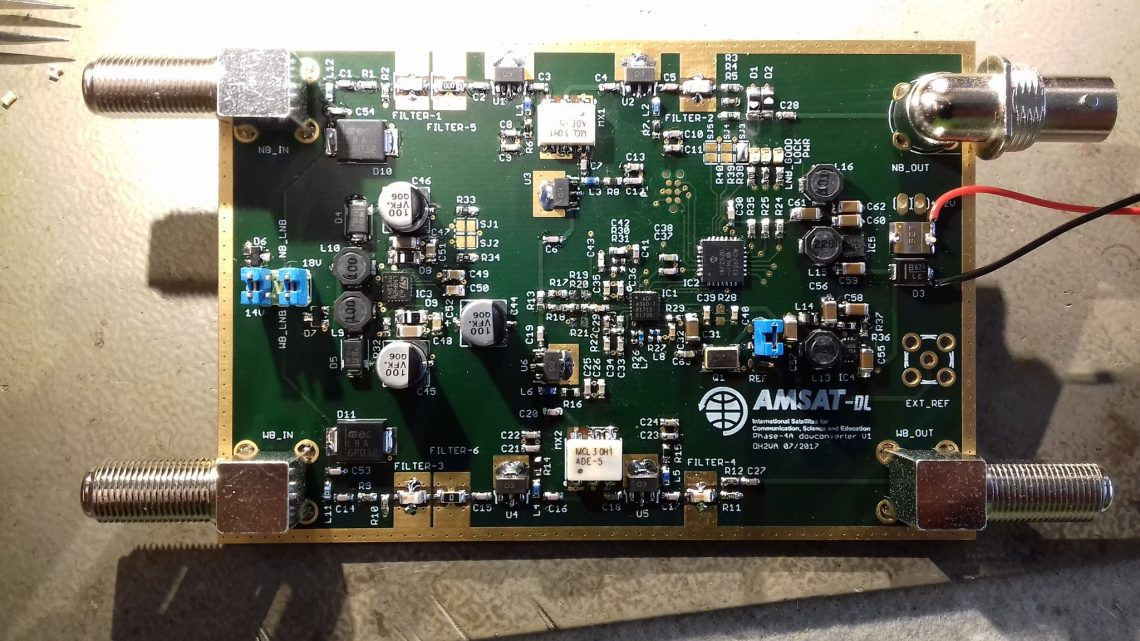 Universal receiver mixer for QO-100 (AMSAT P4-A) - AMSAT-Germany