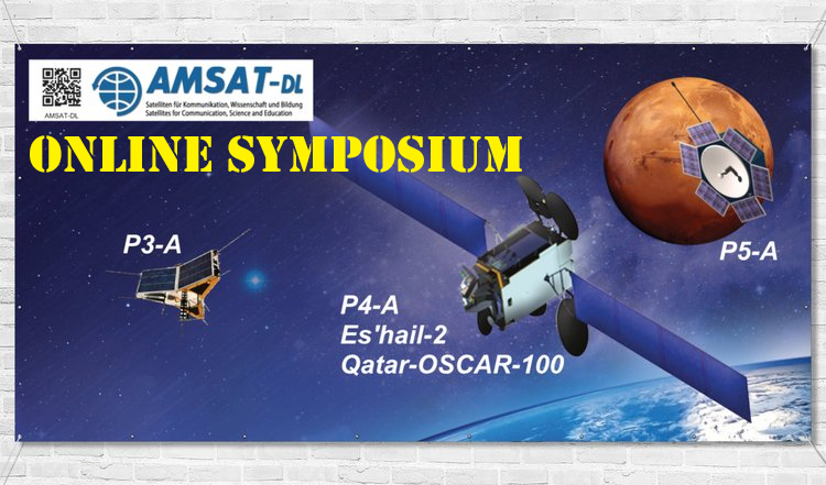 AMSAT-DL Online Satellite Symposium on September 26, 2020
